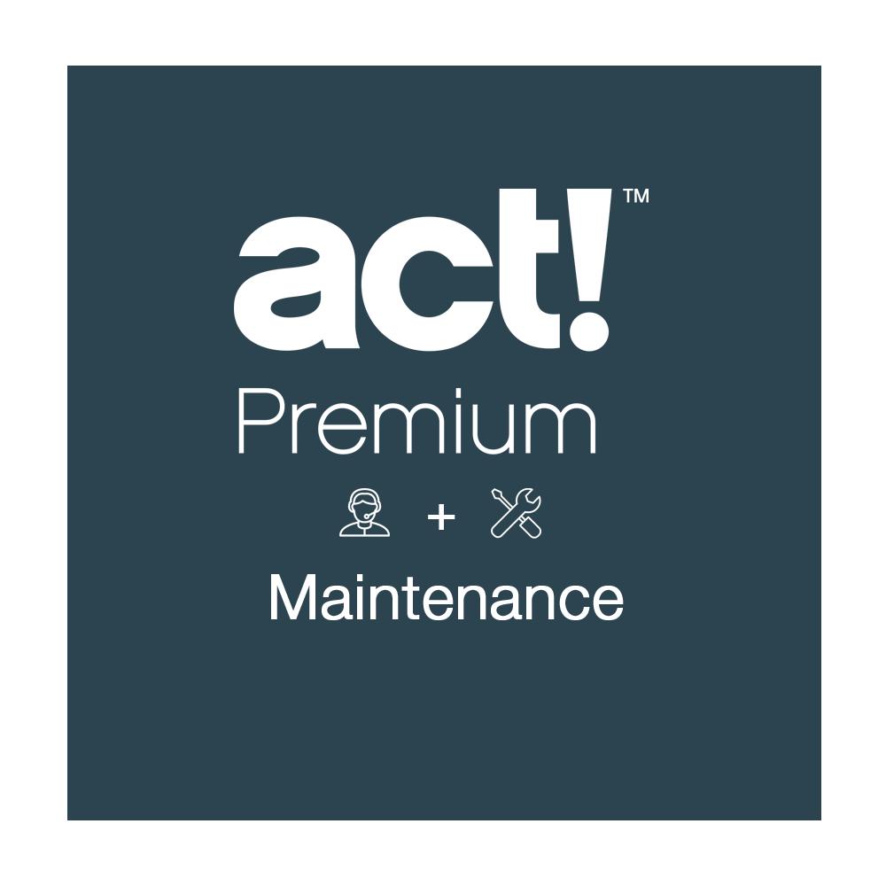 act maintenance premium